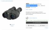 20% de réduction sur les jumelles Canon avec stabilisateur d'image chez Galaxus