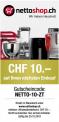 Nettoshop : Code promotionnel de 10 CHF pour un minimum d'achat de 20 CHF valable jusqu'au 20.10.2019 !