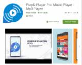 Actuellement disponible gratuitement dans la boutique Google Play !  Player Pro : Lecteur de musique – Lecteur Mp3.