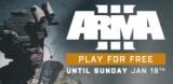 Jouez gratuitement au jeu militaire ARMA III sur PC chez Steam jusqu'à dimanche