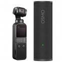La caméra d'action portable DJI Gimbal Osmo + Etui de recharge chez Microspot