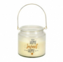 Bougie parfumée gratuite chez LIVIQUE avec l'appli Supercard