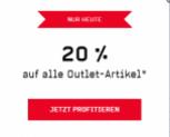 Aujourd'hui 20% sur tous les articles Outlet chez Ochsner Sport !