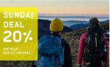 20% de réduction sur tous les articles dans la boutique Outlet chez Ochsner Sport