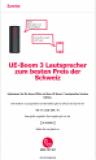 L'enceinte mobile, sans fil, UE Boom 3 Sunrise Edition (uniquement pour les clients Sunrise)