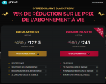 500 GO pour 122.5 €, 2TO en cloud pour 245€ à vie