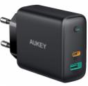 Chargeur AUKEY USB C 60W avec Power Delivery (PD) pour 33.20 CHF grâce à un coupon de 30%, une promotion de 10% et une livraison gratuite