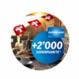 Coop : 2 000 Superpoints gratuits pour tout achat en ligne à partir de 200 CHF