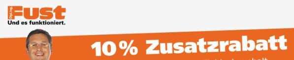 10% de remise supplémentaire sur toute la gamme électroménager et multimédia chez Fust
