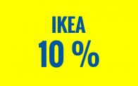 IKEA : Une remise de 10% à partir d'une commande minimale d'achat de 250 CHF. Rendez-vous demain 1er août