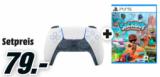 Manette Sony Playstation 5 Dualsense + le jeu Sackboy: A Big Adventure chez MediaMarkt