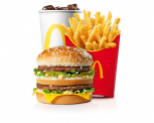 Menu McDonald's gratuit (avec l'application Poinz active)