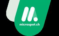 Chez Microspot, à compter du 01.02.2021 : une réduction de 10 CHF à partir d'une valeur d'achat de 100 CHF