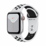Apple Watch Series 5 Nike, connectée, en Aluminium argenté ou en gris sidéral, 40mm, chez Manor au nouveau meilleur prix