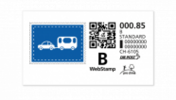 Achetez 12 timbres Webstamps chez La Poste, 2 CHF moins chers