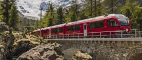 Chemin de fer rhétique( RhB) : Différents bons plans